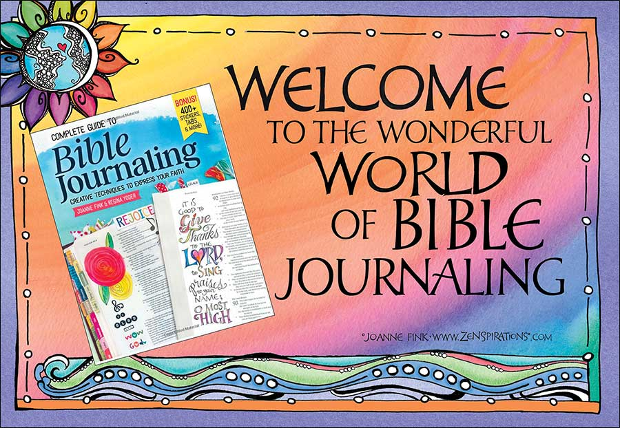 Welcome To The Wonderful World of Bible Journaling